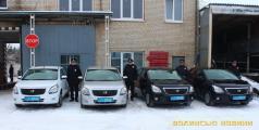 Нові автомобілі для волинських поліцейських
