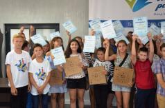 Фонд Ігоря Палиці «Тільки разом» нагородив найкращих юних спортсменів Волині