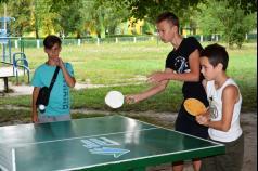 Фонд Ігоря Палиці «Тільки разом» установлює тенісні столи в дворах Луцька