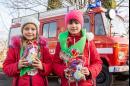 Святий Миколай приїхав до жидичинських школярів на пожежній машині